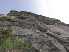 Rock Climbing Photo: a better view of the west face route