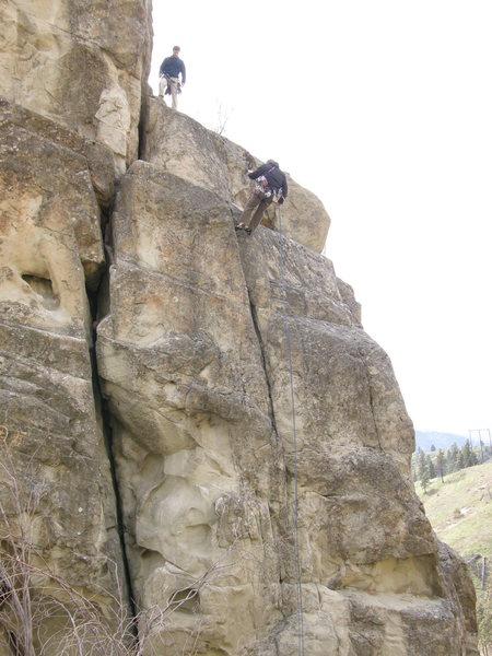 the descent from Lightening Crack