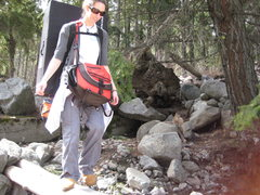 Rock Climbing Photo: minor detour.