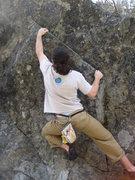 Rock Climbing Photo: still riding the wave