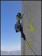 Rock Climbing Photo: Angelina cruising P4 of Atlantis.