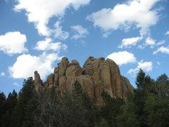 Rock Climbing Photo: Reynold's Complex.