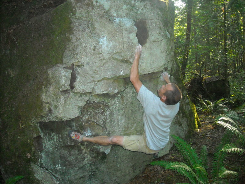 Rock Climbing Photo: Intruder
