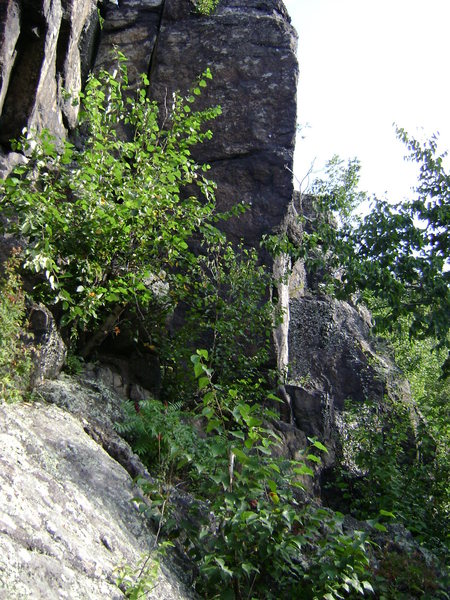 Rock Climbing Photo: From a distance