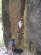 Rock Climbing Photo: just before you notice that those nice looking hol...