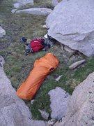 Rock Climbing Photo: bivy