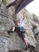 Rock Climbing Photo: Natural pro, better than bolts