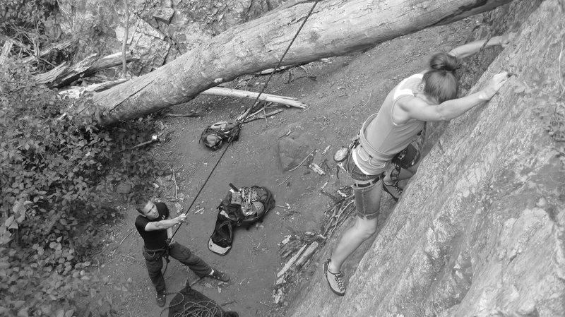 Rock Climbing Photo: So so TR