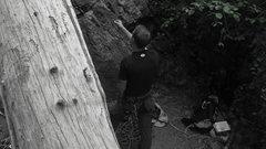 Rock Climbing Photo: Belaying