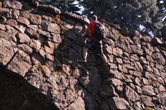Rock Climbing Photo: climbing a random bridge I was walking past in Spo...