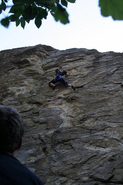Rock Climbing Photo: 10c lead