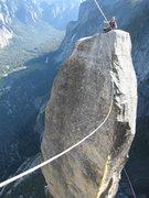 Rock Climbing Photo: Lost Arrow Spire