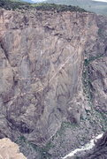 Rock Climbing Photo: Chasmview Wall, Black Canyon of the Gunnison