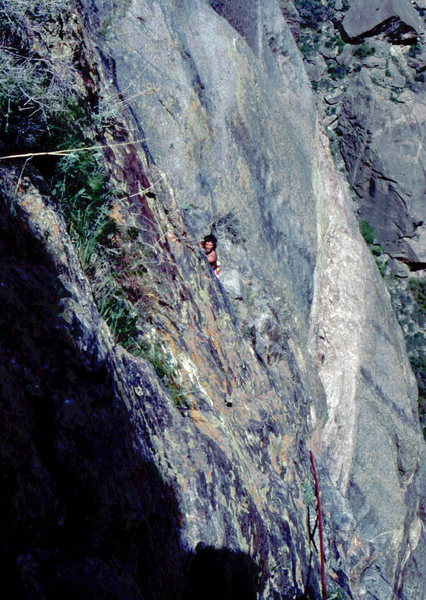 Rock Climbing Photo: Upper pitches, Scenic Cruise