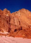 Rock Climbing Photo: Sunrise at the Diamond