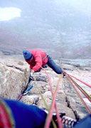 Rock Climbing Photo: Jeff Gruenberg, on King of Swords