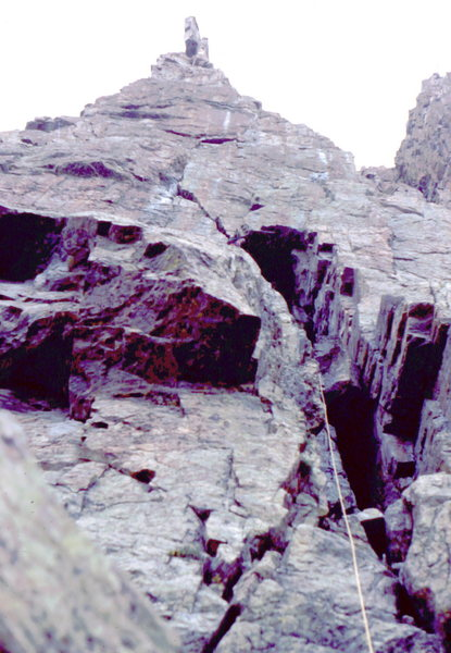 Rock Climbing Photo: The Petite Greypond, RMNP