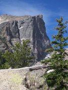 Rock Climbing Photo: Hallet's Peak, RMNP