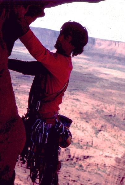 Rock Climbing Photo: Desert rack, Titan