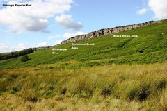 Rock Climbing Photo: Stanage Popular Overview
