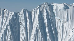 Rock Climbing Photo: Knife edge ridge lines and steep terrain dominate
