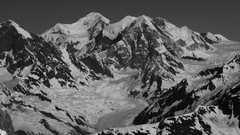 Rock Climbing Photo: Mount Fairweather, 15,325ft. First Ascent in 1931 ...
