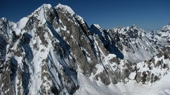 Rock Climbing Photo: One of the many unclimbed, unnammed peaks of the r...