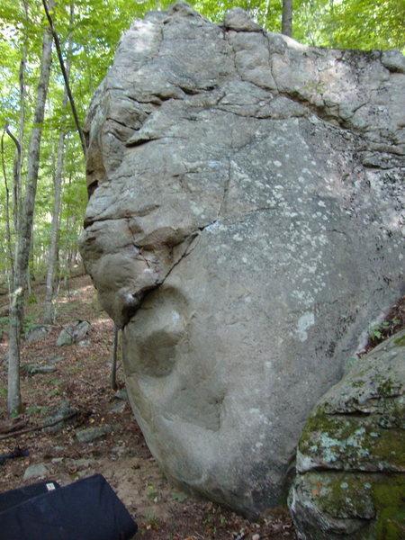 Rock Climbing Photo: up the slab