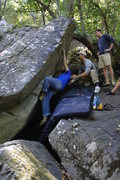Rock Climbing Photo: Getting after it.