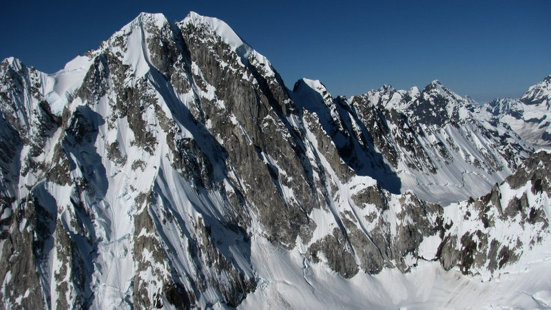 Rock Climbing Photo: So many unclimbed, unnamed peaks to climb