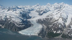 Rock Climbing Photo: The Range and Margerie Glacier