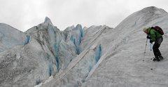 Rock Climbing Photo: On Reid Glacier