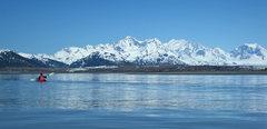Kayaking into the Brady Glacier