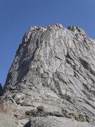 Rock Climbing Photo: Notice the obvious K-Cracks.