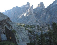 Rock Climbing Photo: luke parady V7, RMNP hallets