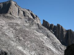 Rock Climbing Photo: SW side of Longs, showing the homestretch and the ...