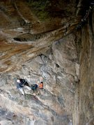 "Rock Climbing Photo: Looking down into the ""Loft"", from the m..."