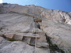 Rock Climbing Photo: Going down COD.