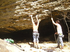 Rock Climbing Photo: Over Yonder 11c
