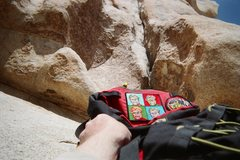 Rock Climbing Photo: Bob's Been to Joshua Tree!