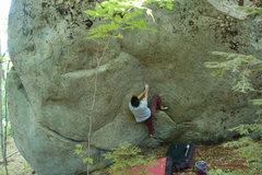 Rock Climbing Photo: unnamed pway line