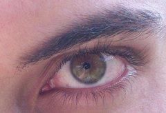 Rock Climbing Photo: close up of my eye, enjoy it
