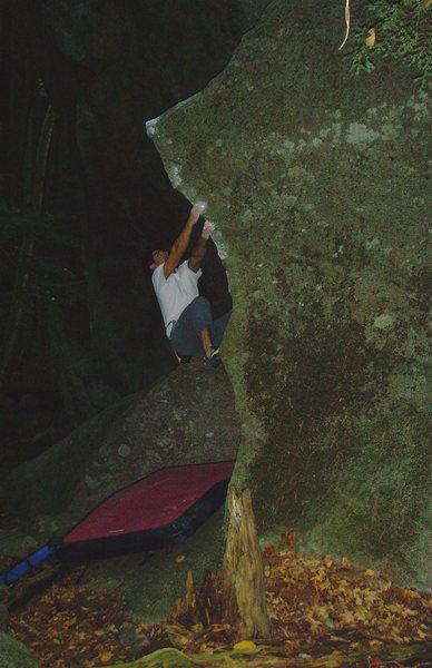 Rock Climbing Photo: Kalbro V3 Pawtuckaway