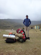 Rock Climbing Photo: in the farm of Mr Miguel Herrera