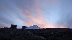 Rock Climbing Photo: pulpito del diablo peak and pan de azucar peak
