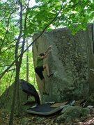 Rock Climbing Photo: Rocky on Phantom Power.