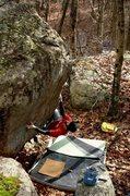 Rock Climbing Photo: Rocky.