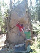 Rock Climbing Photo: Projing.
