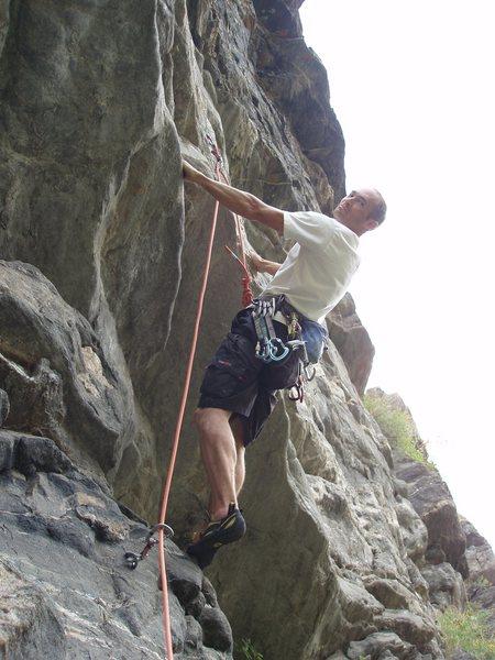 "Rock Climbing Photo: ""I'm NOT a monkey!!"""