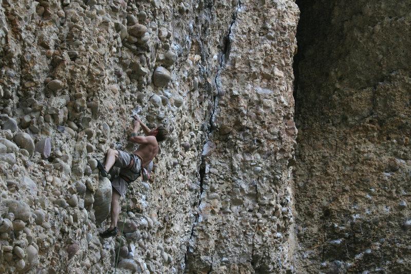 Rock Climbing Photo: enjoying the orgasm-o
